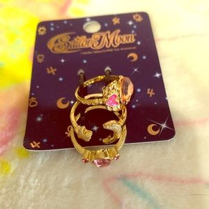 Sailor Moon Stackable Ring Set